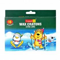 Camlin Wax Crayons 1000 XL - 16 Shades