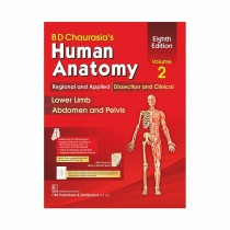 CBS Publishers BD Chaurasia's Human Anatomy Regional & Applied (Dissection & Clinical)   Vol 2, 8th Edi (in 4 Vols) With Wall Chart By Chaurasia B D 2020