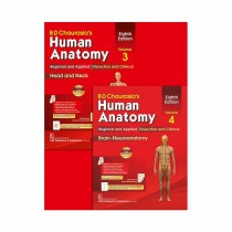 CBS Publishers BD Chaurasia's Human Anatomy Regional & Applied (Dissection & Clinical)  Vol 3, 8th Edi (in 4 Vols)  With Wall Chart By Chaurasia B D 2020