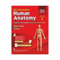 CBS Publishers BD Chaurasia's Human Anatomy Regional & Applied Dissection & Clinical,  Vol 1, 8th Edi (in 4 Vols) With Wall Chart By Chaurasia B D 2020