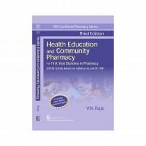 CBS Publishers CBS Confident Pharmacy Series Health Education and Community Pharmacy, 3rd Edi By Raje 2020