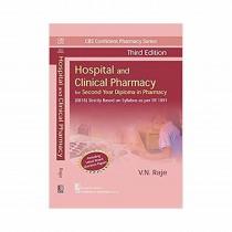 CBS Publishers CBS Confident Pharmacy Series Hospital and Clinical Pharmacy, 3rd Edi By Raje 2019