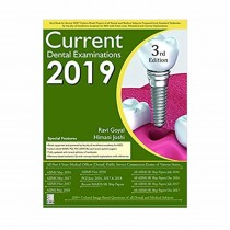 CBS Publishers Current Dental Examinations 2019, 3rd Edi By Goyal R 2019