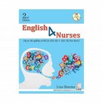 CBS Publishers English 4 Nurses, 2nd Edi As per the Syllabus of INC for BSc (N) & BSc (N) Post Basic By Sharma 2020