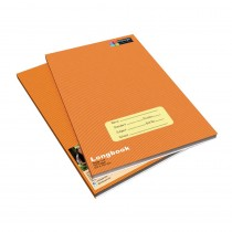 Cellpage Long Book Soft Bound Brown (Pack of 6)