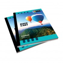 Cellpage Notebook Hard Bound Printed (Pack of 6)
