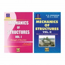 Charotar Publishing Mechanics Of Structure Vol 1 & 2 By Shah & Junnarkar