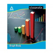 Classmate Graph Book with Soft Cover (Pack of 3)