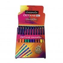 Classmate Octane Colour Fest Ball Pen (Set of 10)