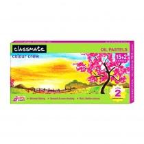 Classmate Oil Pastel (Set of 15)