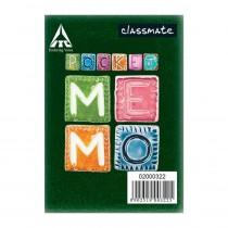 Classmate Pocket Memo Spine Tape (Pack of 10)
