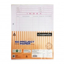 Classmate Practical Sheets 50 Sheets (Both Side Ruled)