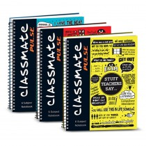 Classmate Pulse Stripe Six Subject (Spiral)