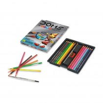 DOMS Aqua Colour Pencils (Set of 12)