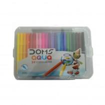 DOMS Aqua Sketch Pens (24 Shades)