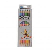 DOMS Bi Colour Pencils