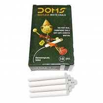DOMS Dustless White Chalk (Pack of 100)