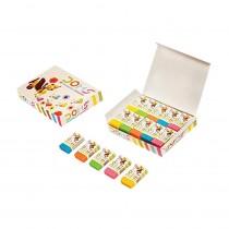 DOMS Fragrance Coloured Eraser (Pack of 20)