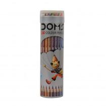 DOMS Full Size Colour Pencils (Tin Round Box)