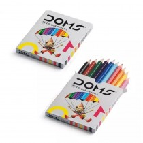 DOMS Half Size Colour Pencils (Pack of 2)