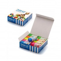 DOMS Long Coloured Pencil Erasers (Pack of 20)