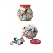 DOMS Pencil Sharpeners (Jar of 100)
