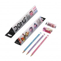 DOMS Zoom Triangle Ultimate Dark Pencil (Pack of 20)