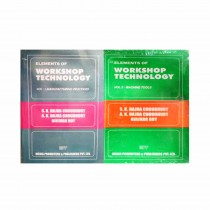 Elements Of Workshop Technology Vol 1 & 2 By Hajra Choudhary