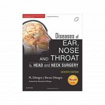 Elsevier Diseases of Ear, Nose and throat & Head and Neck Surgery, 7e By PL Dhingra,Shruti Dhingra 2017