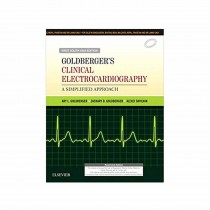 Elsevier Goldberger's Clinical Electrocardiography A Simplified Approach 1st South Asia Edi By Ary Goldberger,Zachary Goldberger & Shvilkin 2017