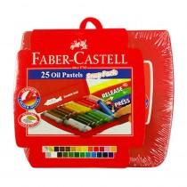 Faber-Castell 25 Oil Pastel Snug Pack