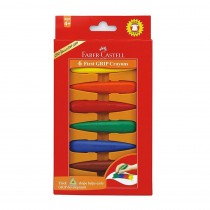 Faber-Castell Early Age Crayons (First Grip Crayons)
