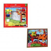 Faber-Castell Make Your Own Canvas Art Design 1 Country House