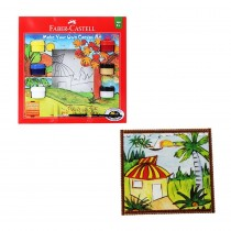 Faber-Castell Make Your Own Canvas Art Design 2 Forest