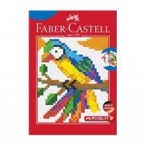 Faber-Castell Pixel Art Colouring Book 15 Motifs