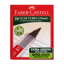 Faber-Castell Polymer Leads 75 mm (Pack of 10)