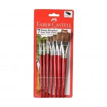 Faber-Castell Pony Hair Flat Brush Set