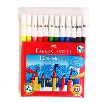 Faber-Castell Sketch Pens (Assorted Set of 12) Pack of 2