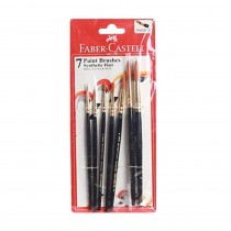 Faber-Castell Synthetic Hair Round Brush Set