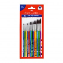 Faber-Castell Tri Grip Brushes (Set of 13)