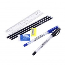 Faber-Castell Writing and Marking Stationery Blister Set