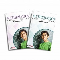 Full Marks CBSE Mathematics Term 1 & 2 Class 10 By M Singh