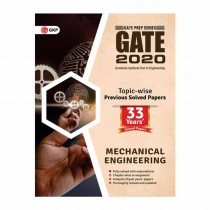 GK Publication GATE 2020 - Topic-wise Previous Solved Papers - 33 Years' Solved Papers- Mechanical Engineering