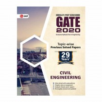 GK Publication GATE 2020 Civil Engineering 29 Years' Topic-wise Previous Solved Papers