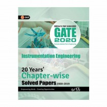 GK Publication GATE 20 Years Chapter Wise Solved Papers Instrumentation Engg (2000-2019) 2020