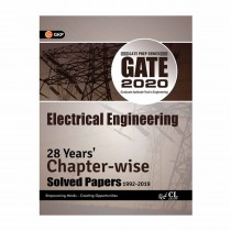 GK Publication GATE Electrical Engineering (28 Year's Chapter wise Solved Papers) 2020