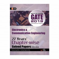 GK Publication GATE Electronics & Communication Engg (27 Year Chapter-Wise Solved Paper) 2019