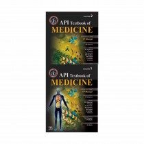 Jaypee Brothers API Textbook Of Medicine Set Of Vol 1 & 2 with CD ROM, 10th Edi By Munjal