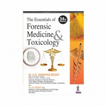 Jaypee Brothers The Essentials Of Forensic Medicine & Toxicology 34th Edi By Narayan Reddy