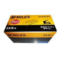 Kangaro Miles Staples 23-8-H (Pack of 20)